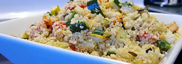 Grilled Vegetable and Couscous Salad